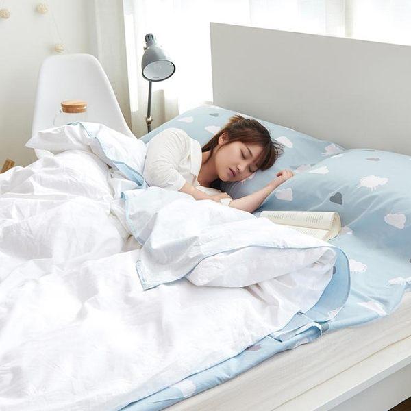 睡袋 酒店賓館隔臟睡袋棉質便攜式出差旅行防臟床單超輕雙人室內成人【快速出貨八折下殺】