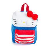 Sanrio HELLO KITTY躲貓貓造型小童用絨毛後背包M(長方)★funbox★_104451