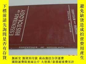 二手書博民逛書店ESSENTIALS罕見OF HISTOLOGY 英文5919