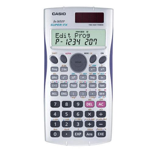 【奇奇文具】【CASIO 卡西歐 計算機】CASIO  FX-3650P 工程用計算機