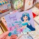 正版授權 迪士尼立體卡片 公主系列 茉莉公主 小卡片 萬用卡片 卡片 COCOS DA030