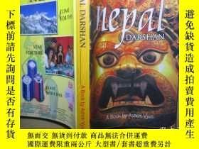 二手書博民逛書店【英文原版書】NEPAL罕見DARSHAN  A BOOK by