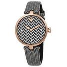 ARMANI 女士歐美時尚石英皮帶女士手錶 AR11237
