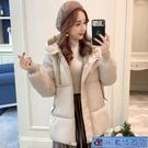胖MM棉襖2021年新款韓版寬鬆大碼加厚羽絨棉衣冬裝面包服外套 3C數位百貨