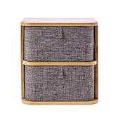 品竹雙層抽屜盒寬20x深15x高20.6公分