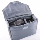 ◎相機專家◎ 相機內袋 L號 加蓋版 可拆蓋 背包內袋 攝影包 攝影內袋 鏡頭 防震 長30CM