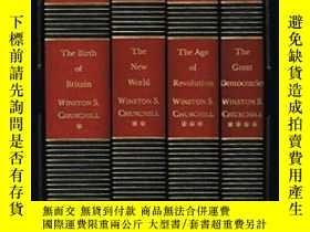 二手書博民逛書店A罕見History Of The English-speaking PeoplesY256260 Churc