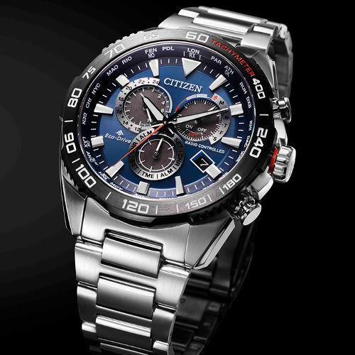 免運費 日本正規貨 公民 PROMASTER LAND 太陽能電波手錶 男士手錶 CB5034-82L