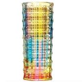 玻璃花瓶-流行絢麗奪目藝術品居家擺件2色72ah21【時尚巴黎】