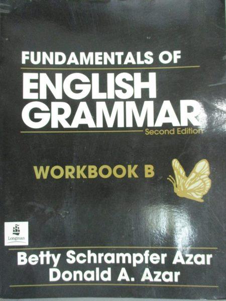 【書寶二手書T1/語言學習_ZIM】Fundamentals of English Grammar Workbook B冊