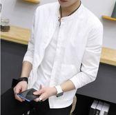 男士春夏季新款青年夾克薄款棒球服防曬衣yhs570【123休閒館】