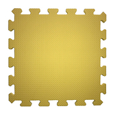 素色安全地墊30x30x1cm 6 入檸檬黃