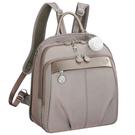 Kanana卡娜娜 多功能尼龍大型手提後背兩用包(米灰色)241009-05