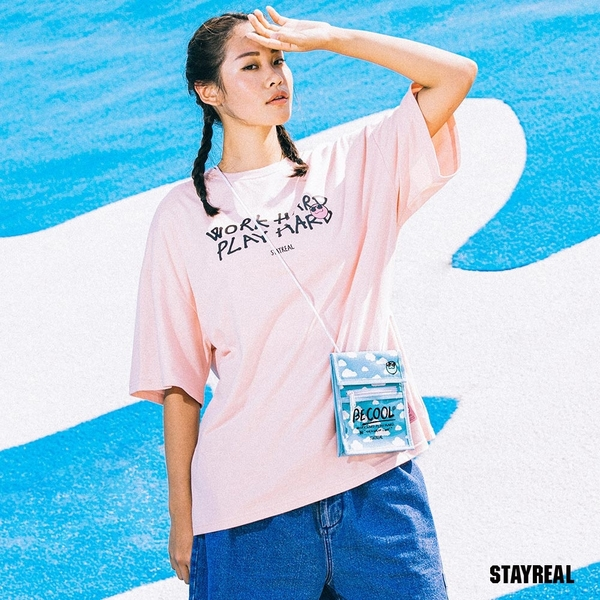STAYREAL BE COOL隨身小包