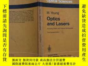 二手書博民逛書店optics罕見and lasers including fib