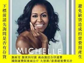 二手書博民逛書店成爲罕見成器 美國前總統夫人米歇爾·奧巴馬自傳 英文原版 Bec