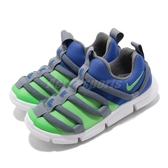 Nike 慢跑鞋 Novice PS 藍 綠 童鞋 中童鞋 運動鞋 毛毛蟲鞋 【PUMP306】 AQ9661-400