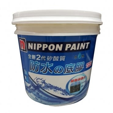 立邦全新2代矽酸質防水底膠15KG-白色