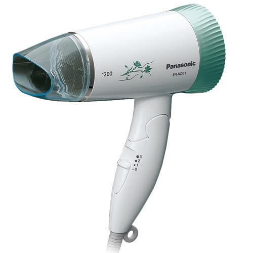 Panasonic國際 超靜音摺疊式吹風機EH-ND51-G【愛買】