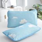 枕套一對裝夏季親膚水洗枕頭套成人單人學生卡通兒童枕芯套48x74第一印象