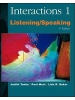 二手書博民逛書店《Interactions 1: Listening/Speak