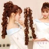 甜甜圈丸子頭假髮毛毛蟲髮圈女生髮包夏季新娘盤髮器古裝丸子頭蓬鬆捲花苞 【快速出貨】