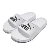 Puma 涼拖鞋 Divecat V2 白 黑 LOGO 運動拖鞋 涼鞋 基本款 男鞋 女鞋【ACS】 36940002