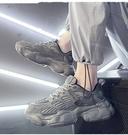 【358百貨】 春季2021年新款男鞋韓版潮流百搭運動休閑青少年學生跑步老爹潮鞋