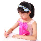 兒童坐姿保護器小學生坐姿矯正器糾正寫字姿勢儀架力視送握筆器【快速出貨八折下殺】