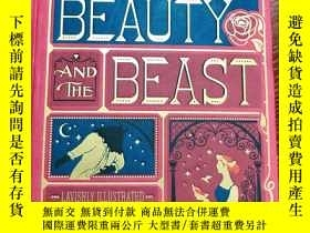 二手書博民逛書店英文原版罕見The Beauty and the Beast 美