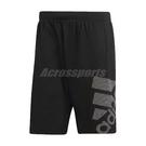 adidas 短褲 4KRFT Sport Graphic Shorts 黑 白 男款 運動褲 健身 訓練 運動休閒 【ACS】 DU0934