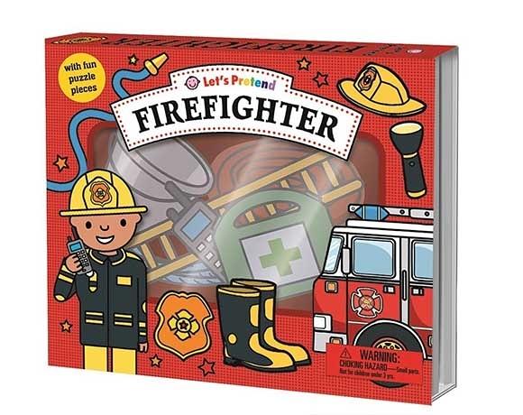 Let's Pretend:Firefighter 打火英雄 硬頁掀翻操作書(英國版)