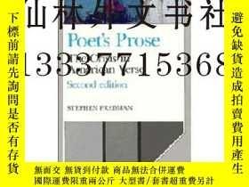 二手書博民逛書店【罕見】1990年 詩人散文 Poet s Prose: The