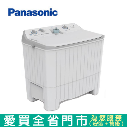 (預購)Panasonic國際12KG雙槽洗衣機NA-W120G1含配送+安裝【愛買】