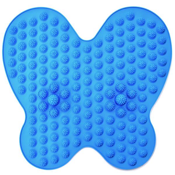 蝴蝶型指壓板腳底按摩器.足底趾壓板.腳底按摩墊養生足療墊.穴道按摩步道.足部健康步道.指壓版