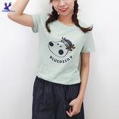 【春夏新品】American Bluedeer -海軍鹿印花上衣 二色