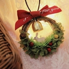 永生花材料包,新年款,幸運鈴鐺,附製作說明