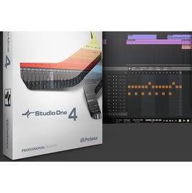 凱傑樂器  PreSonus Studio One 4 Professional Upgrade From Artist(下載版)