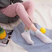短襪淺口韓版版可愛船襪純棉中筒襪