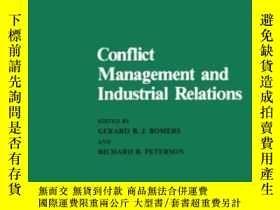 二手書博民逛書店Conflict罕見Management And Industrial Relations (nijenrode