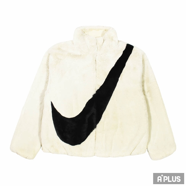 NIKE 女 AS W NSW JKT FAUX FUR 保暖刷毛外套 - CU6559238