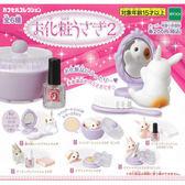 全套6款【日本正版】美麗兔子化妝品 P2 扭蛋 轉蛋 EPOCH - 618726