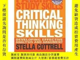 二手書博民逛書店批判性思維能力罕見Critical Thinking Skills 2eY335736 Stella Cott