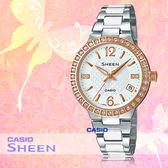 CASIO 卡西歐 手錶專賣店 SHE-4049SG-7A 女錶 不鏽鋼錶帶 日期顯示 礦物玻璃 50米防水