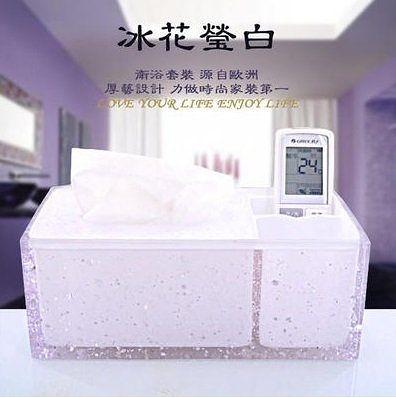 厚藝高檔樹脂創意紙巾盒車用1