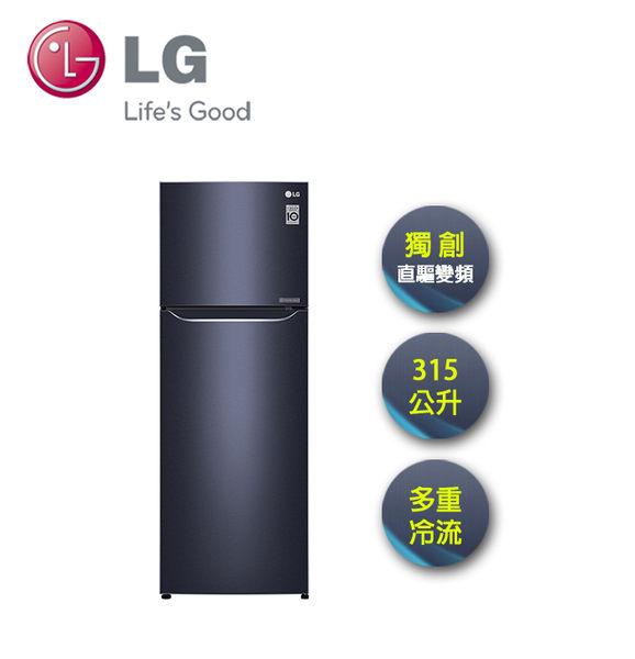 LG | 315L 上下雙門 直驅變頻冰箱 星曜藍 GN-L397C