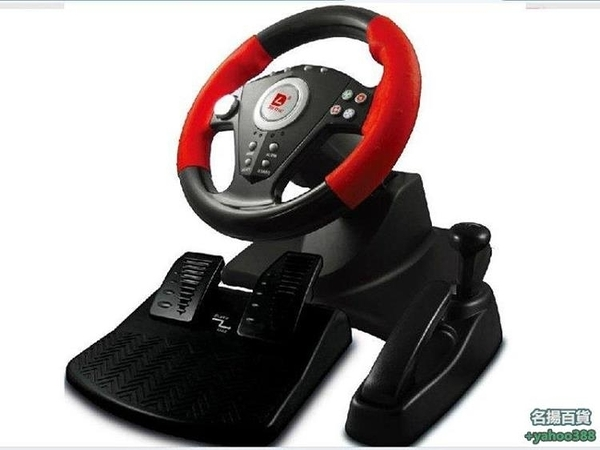W百貨581迪龍pu808 極品飛車18歐卡2電玩賽車遊戲方向盤 模擬學車駕駛
