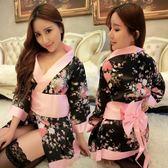 性感日系印花和服游戲制服角色扮演出服女式情趣內衣大碼套裝