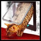 【中號】 貓狗專屬訂製門 寵物貓狗門 磁性貓狗門 可控制貓狗門 愛因斯坦門 自由進出門 貓奴