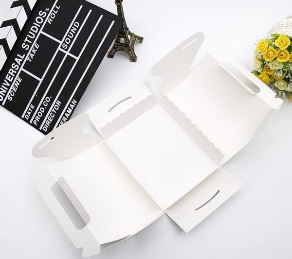 附底托 大號素面西點手提盒 禮盒【C099】點心盒 杯子蛋糕盒 餅乾盒 婚禮小物 外帶盒 包裝盒紙盒